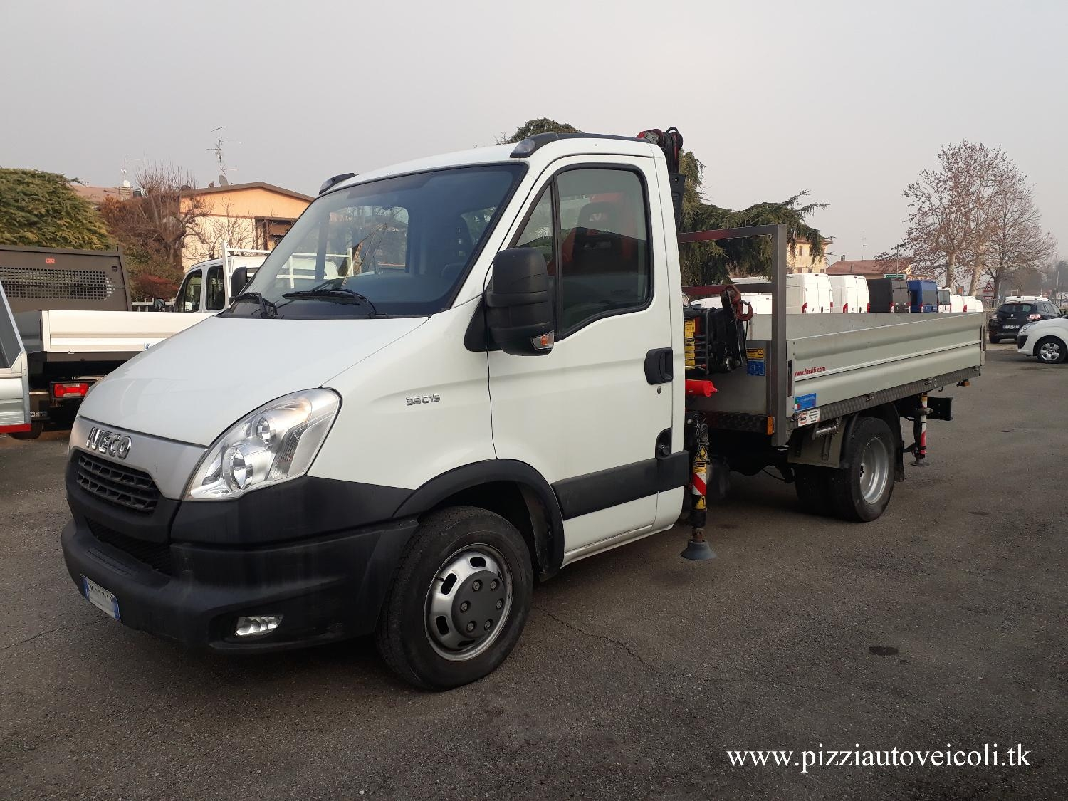 IVECO DAILY 35C15 CASSONE GRU FASSI[G10]